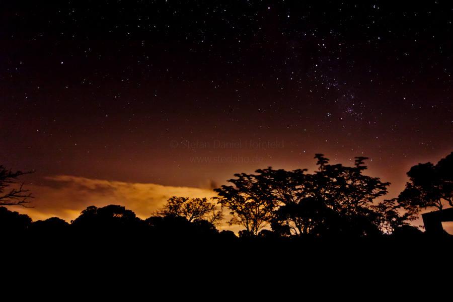 Sternenhimmel in Mosambik