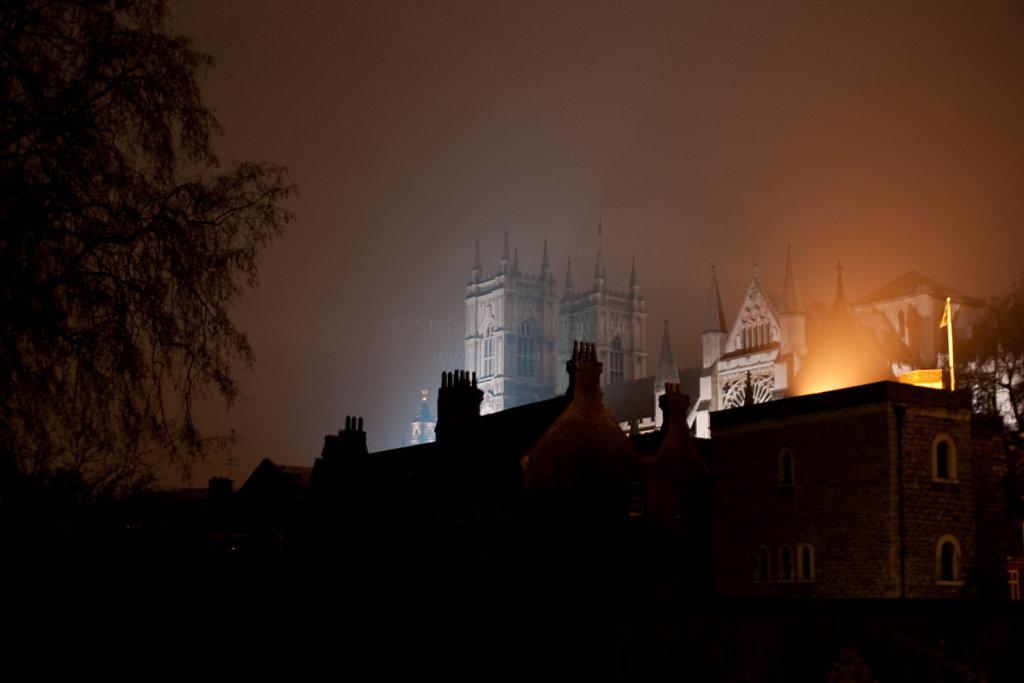 Nebel in Westminster