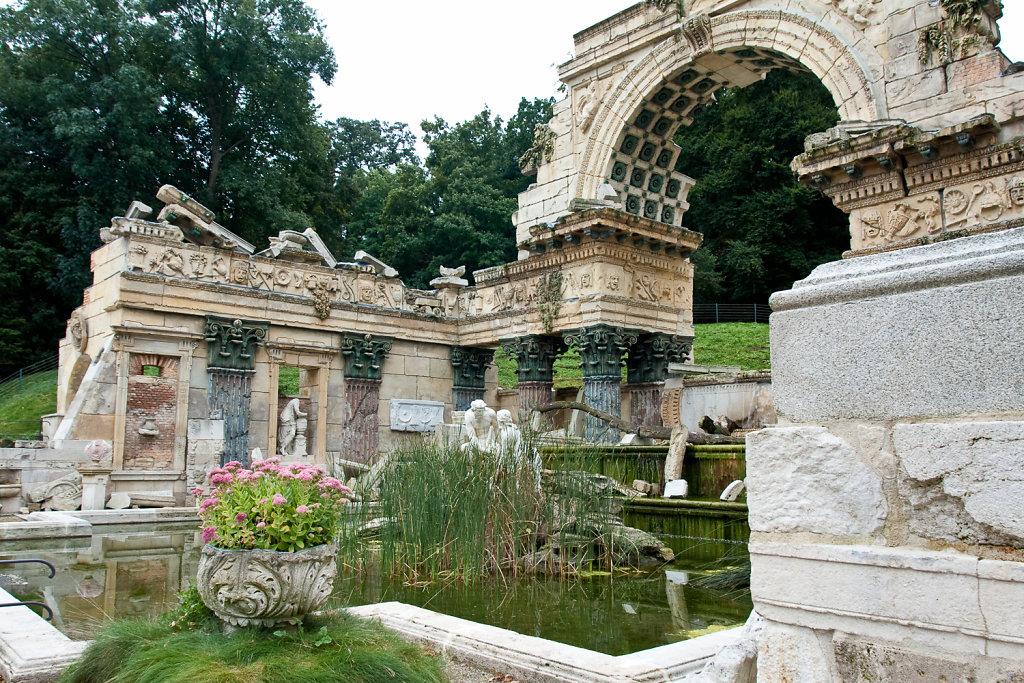 Römische Ruine Schlosspark Schönbrunn