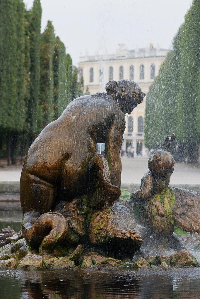 Rundbassin im Schlosspark Schönbrunn