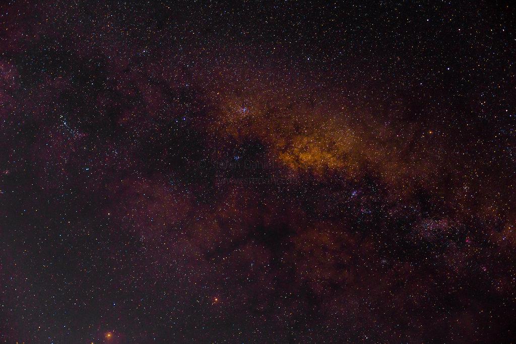 Sternenhimmel über Praslin