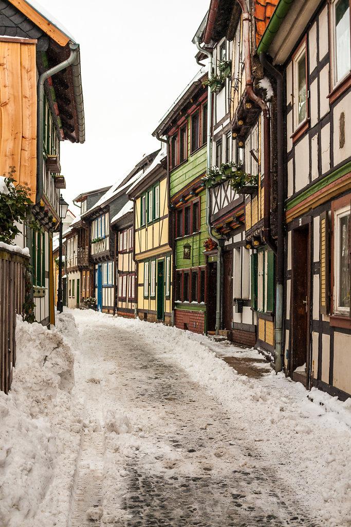 Altstadt in Wernigerode