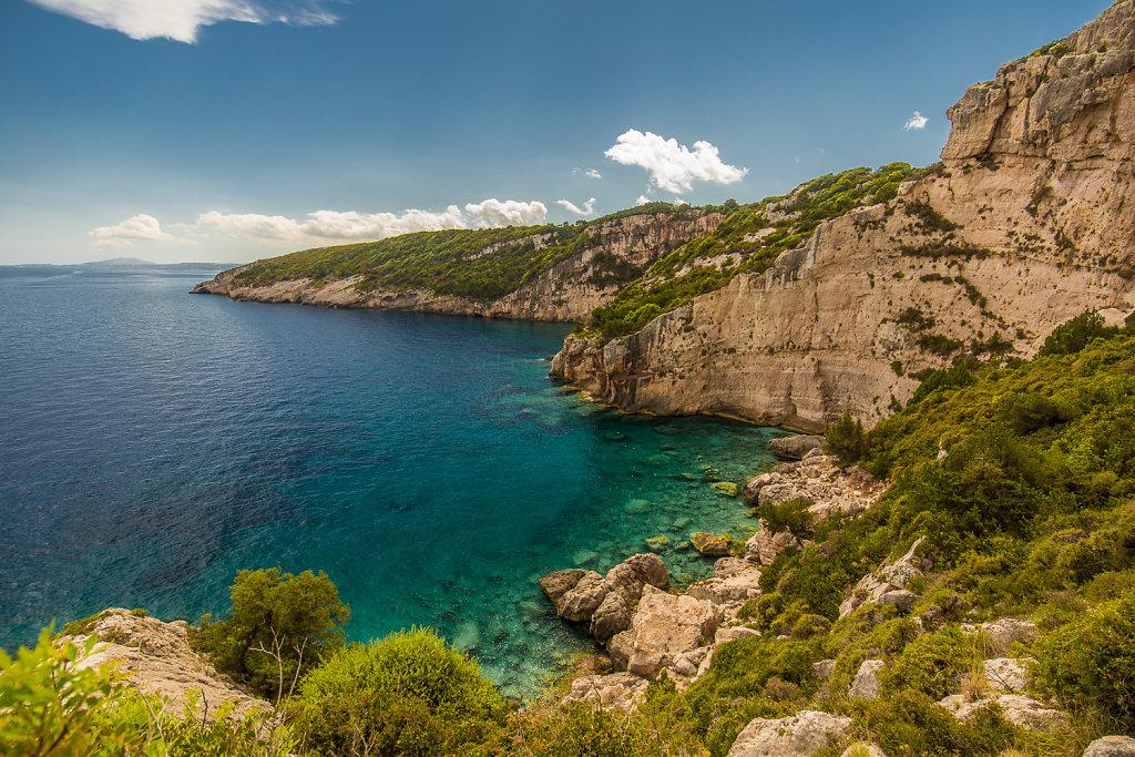 Bucht bei den blauen Grotten