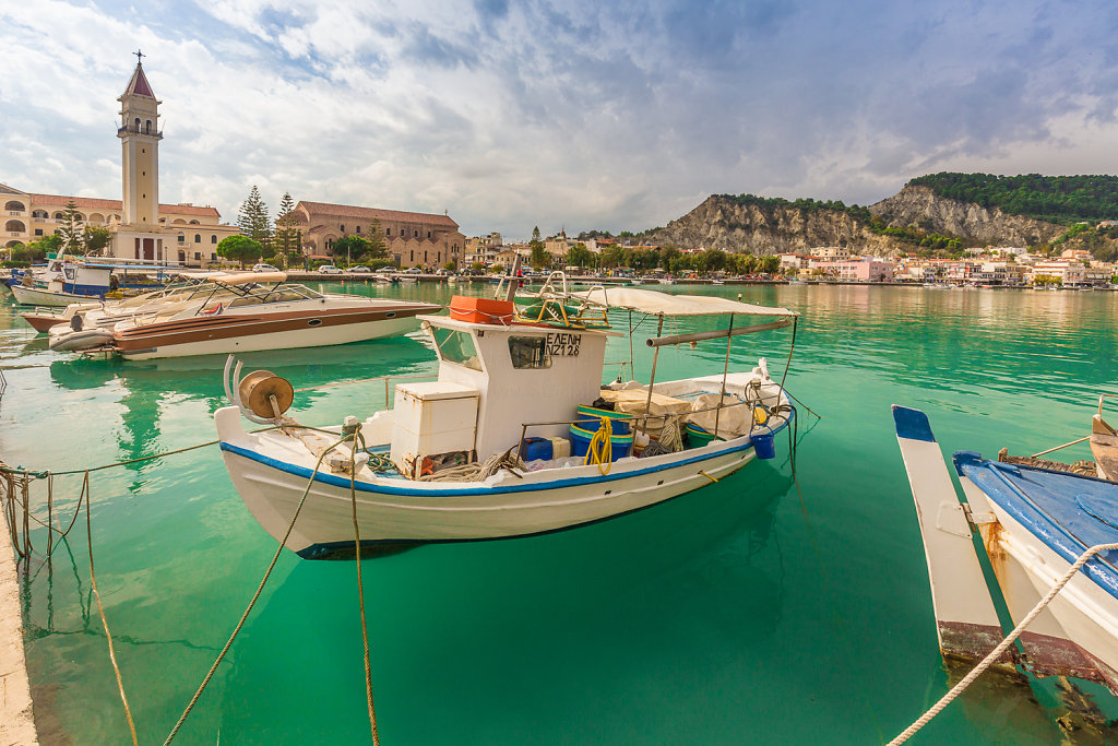 Hafen von Zakynthos Stadt